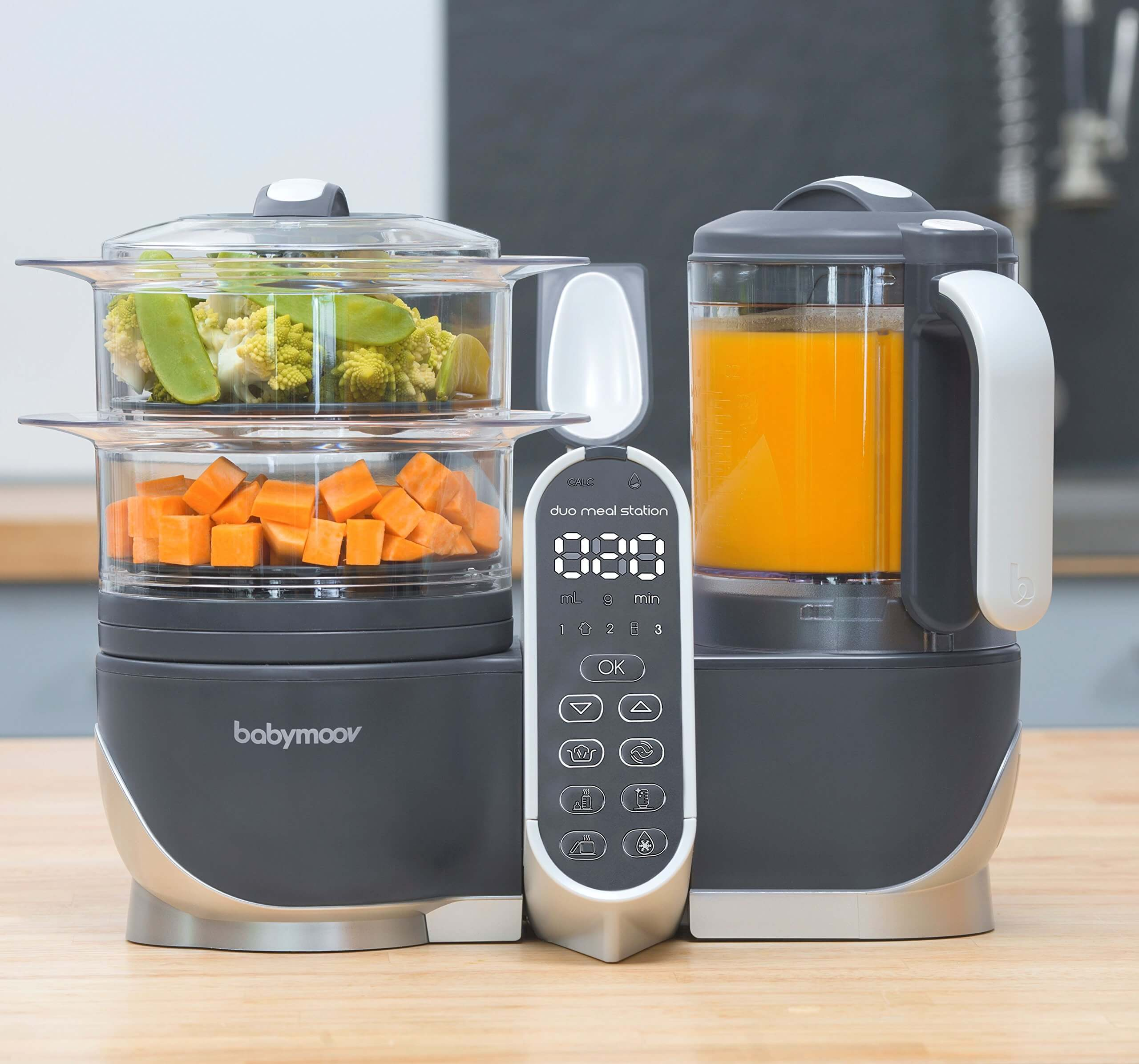 best baby food brand for best baby food maker, Babymoov Duo Meal Station Food Maker 6-in-1, baby food processor,