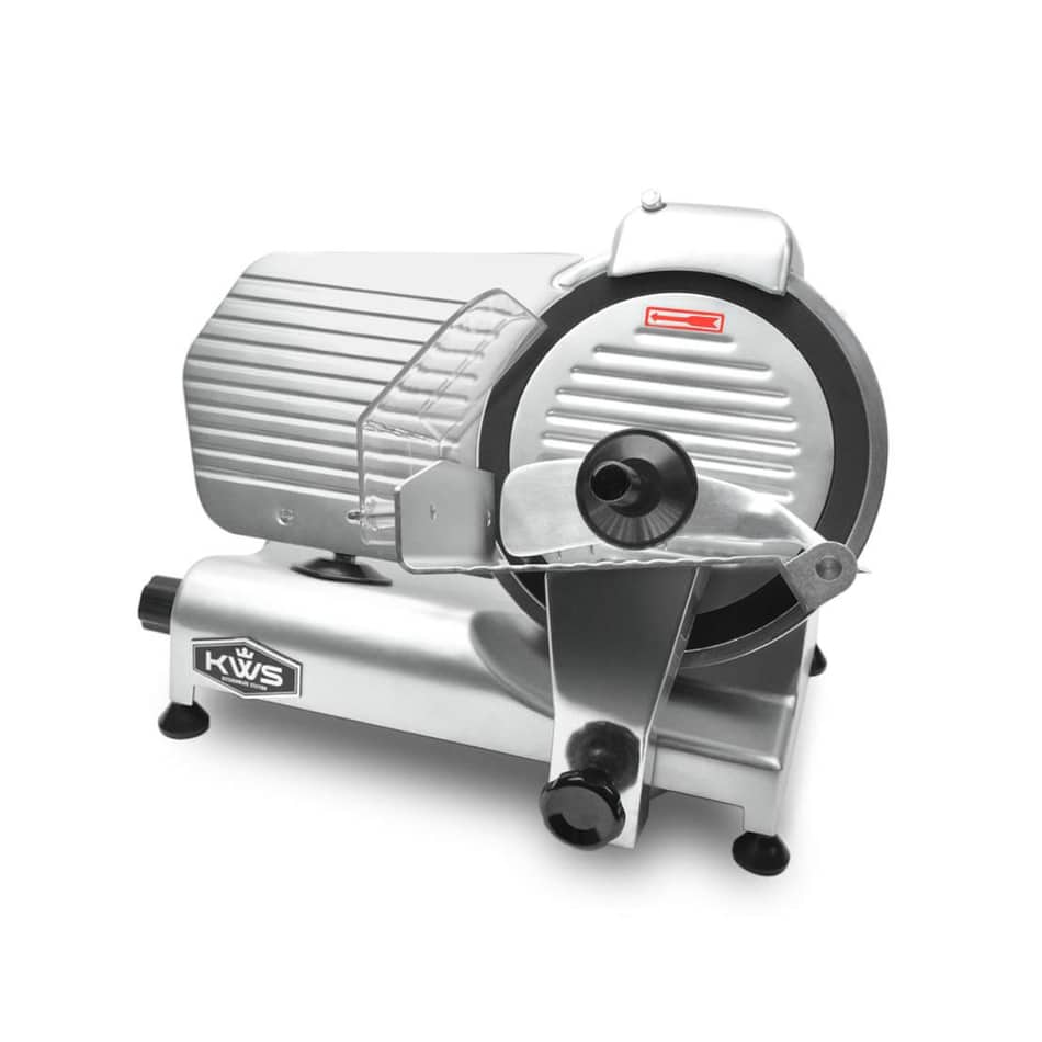 KWS MS-10NT Premium Commercial 320W Electric Meat Slicer