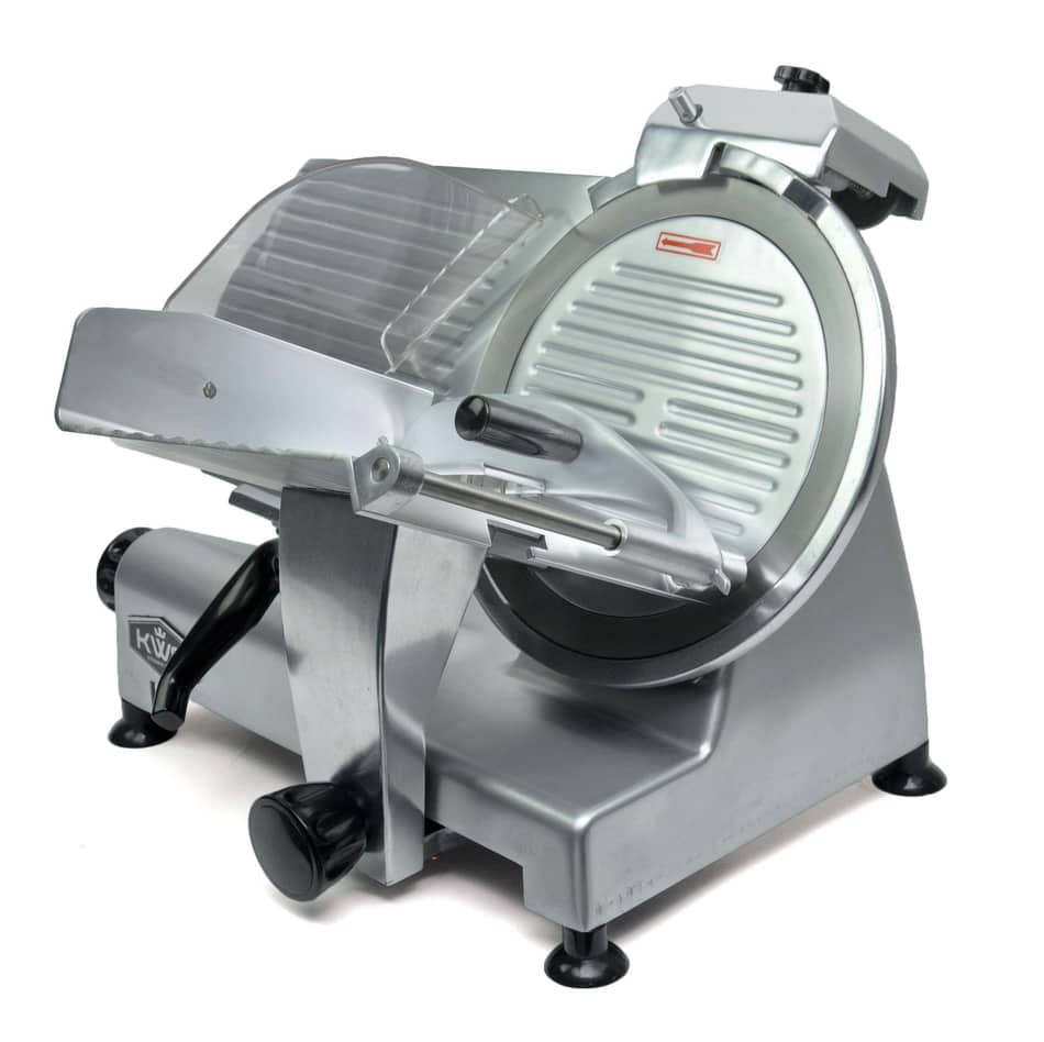 KWS MS-12NS Premium Commercial 420w Electric Meat Slicer
