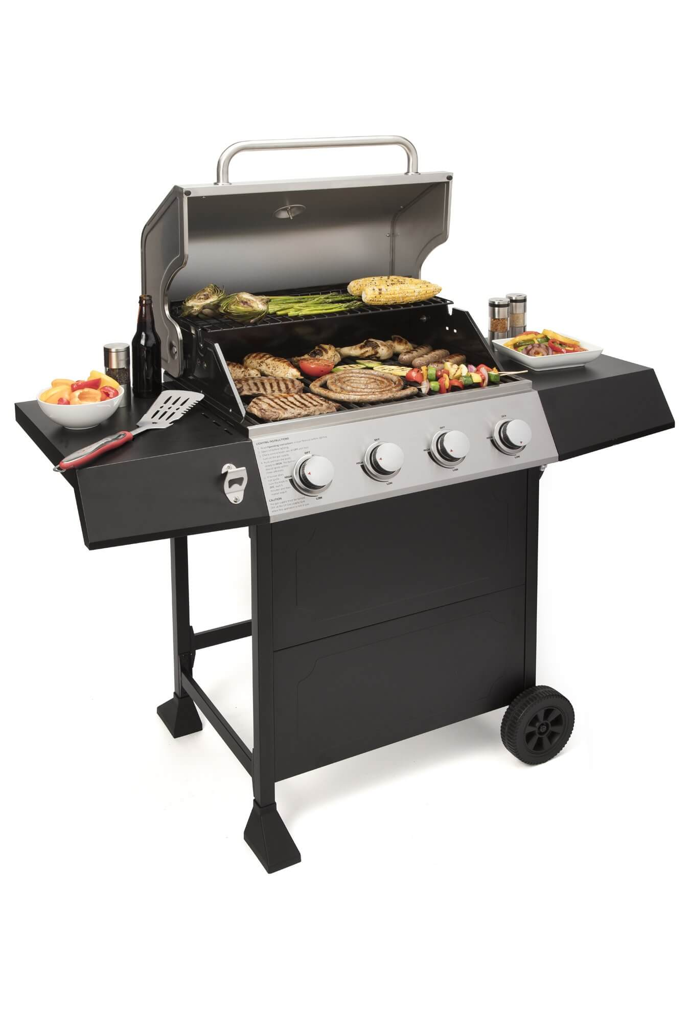 Cuisinart CGG-7400 Full Size Four Burner Gas Grill, best value gas grill, best rated gas grills, best gas grills under 300, best gas grill under 300, best gas grill under $200, best smokers under 300, Best Gas Grill under $300 for Delicious and Easy Home Grilling