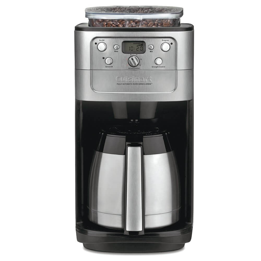 cuisinart coffee maker with grinder, coffee machine, coffee pots