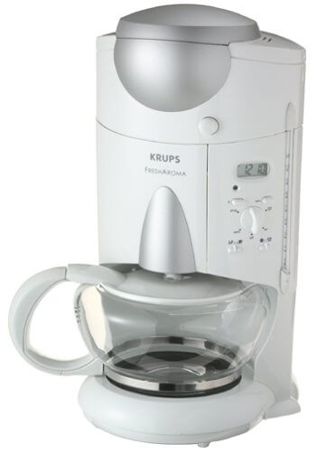 what is the best coffee maker, KRUPS KM7005 Grind and Brew Coffee Maker, best coffee makers with grinder,coffee machine with grinder, best single serve coffee maker