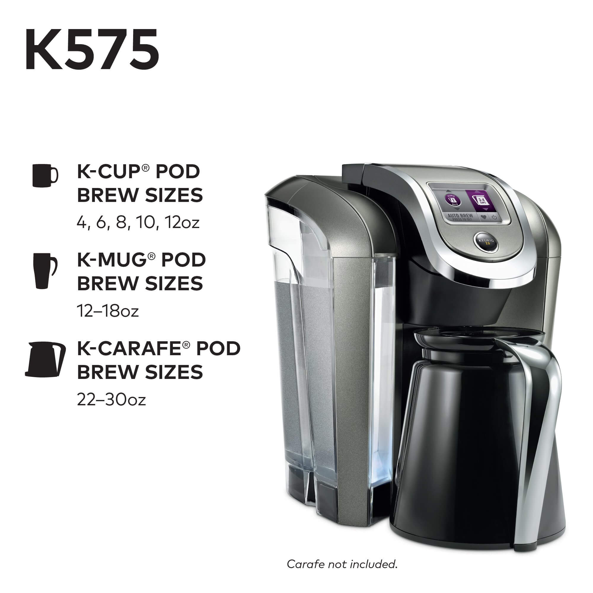 Keurig K575 Single Serve K-Cup Pod Coffee Brewer, best coffee machine with grinder, coffeemaker, best keurig