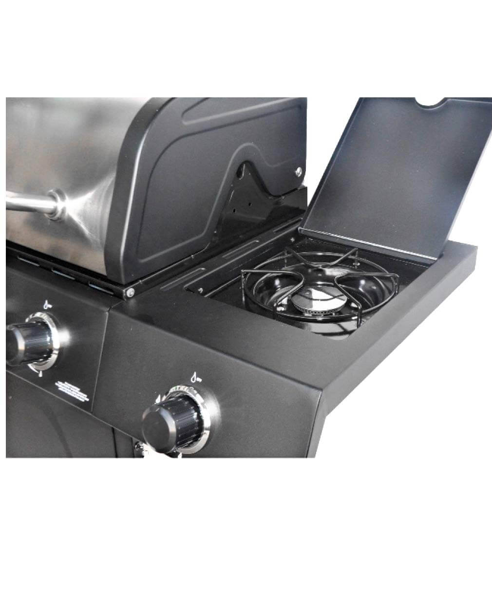 Best Gas Grill under $300 for Delicious and Easy Home Grilling, RevoAce 4-Burner LP Gas Grill with Side Burner, gas grill reviews 2020,