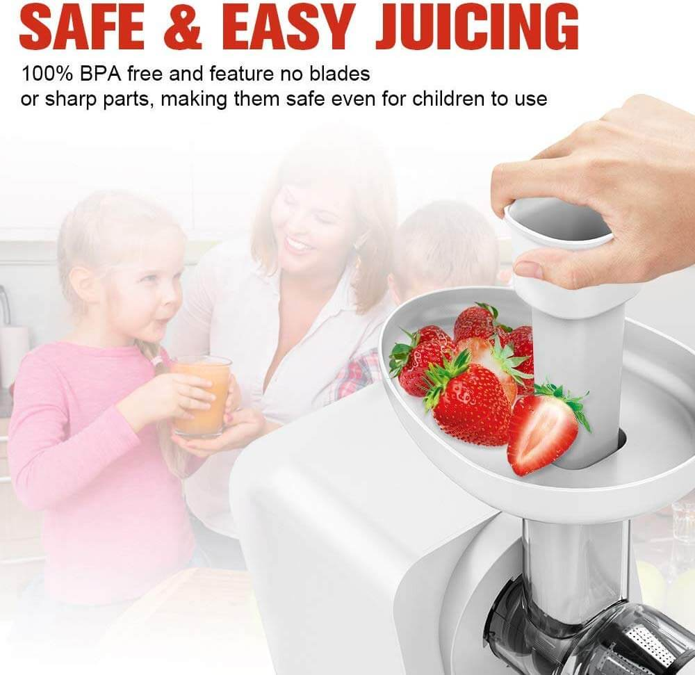 best masticating juicer, KOIOS Masticating Juicer Machine, koios juicer amazon, the best juicer, best juice extractor