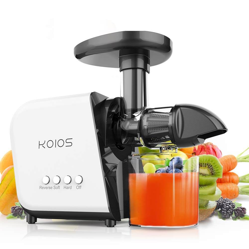 cold pressed juicer, KOIOS Slow Masticating Juicer Extractor Machines, best masticating juicer, best juicers on amazon