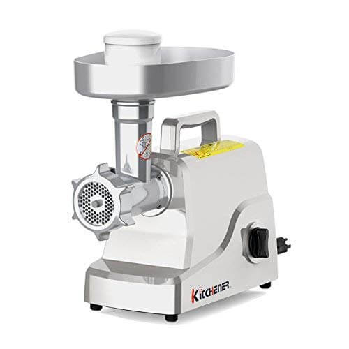 Kitchener Heavy-Duty Electric Meat Grinder, best meat grinder 2020, best meat grinder for the money