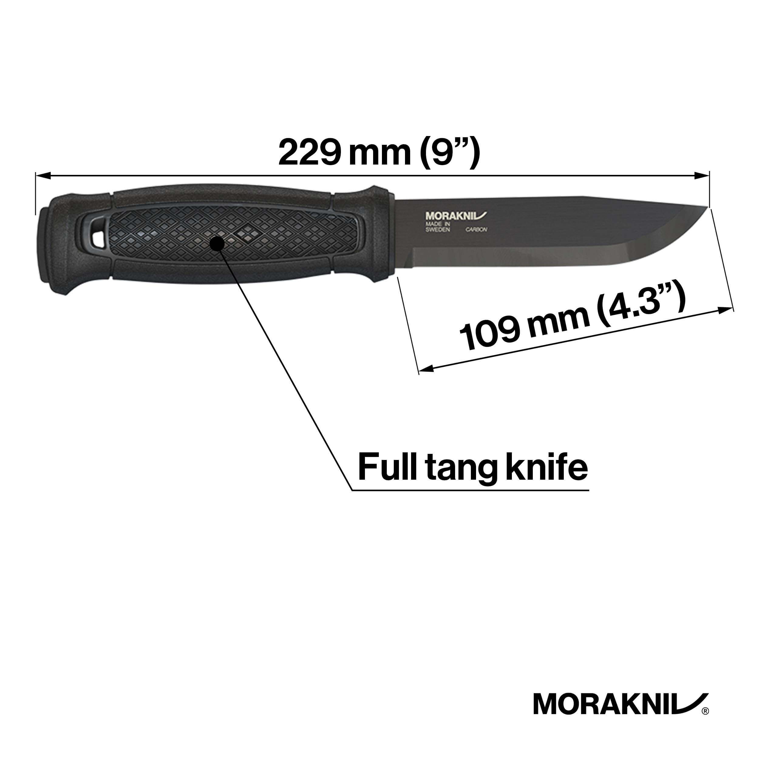 Morakniv Garberg Full Tang Fixed Blade Knife, bushcraft survival knife, best survival knives for the money,best fixed blade knives 2020