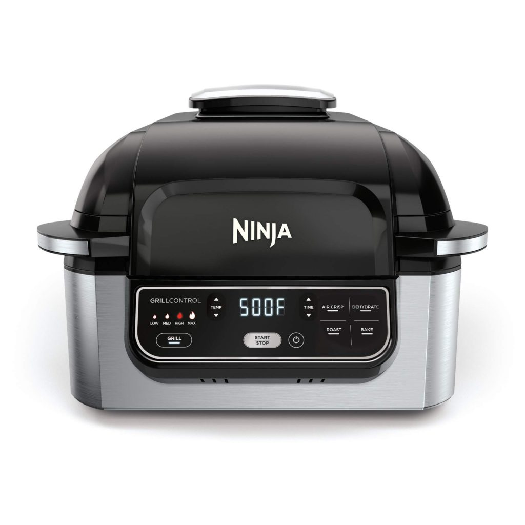 ninja foodi 5 in 1 indoor grill reviews, Ninja Foodi 5-in-1 4-Qt, ninja grill reviews, best smokeless indoor grill 2020