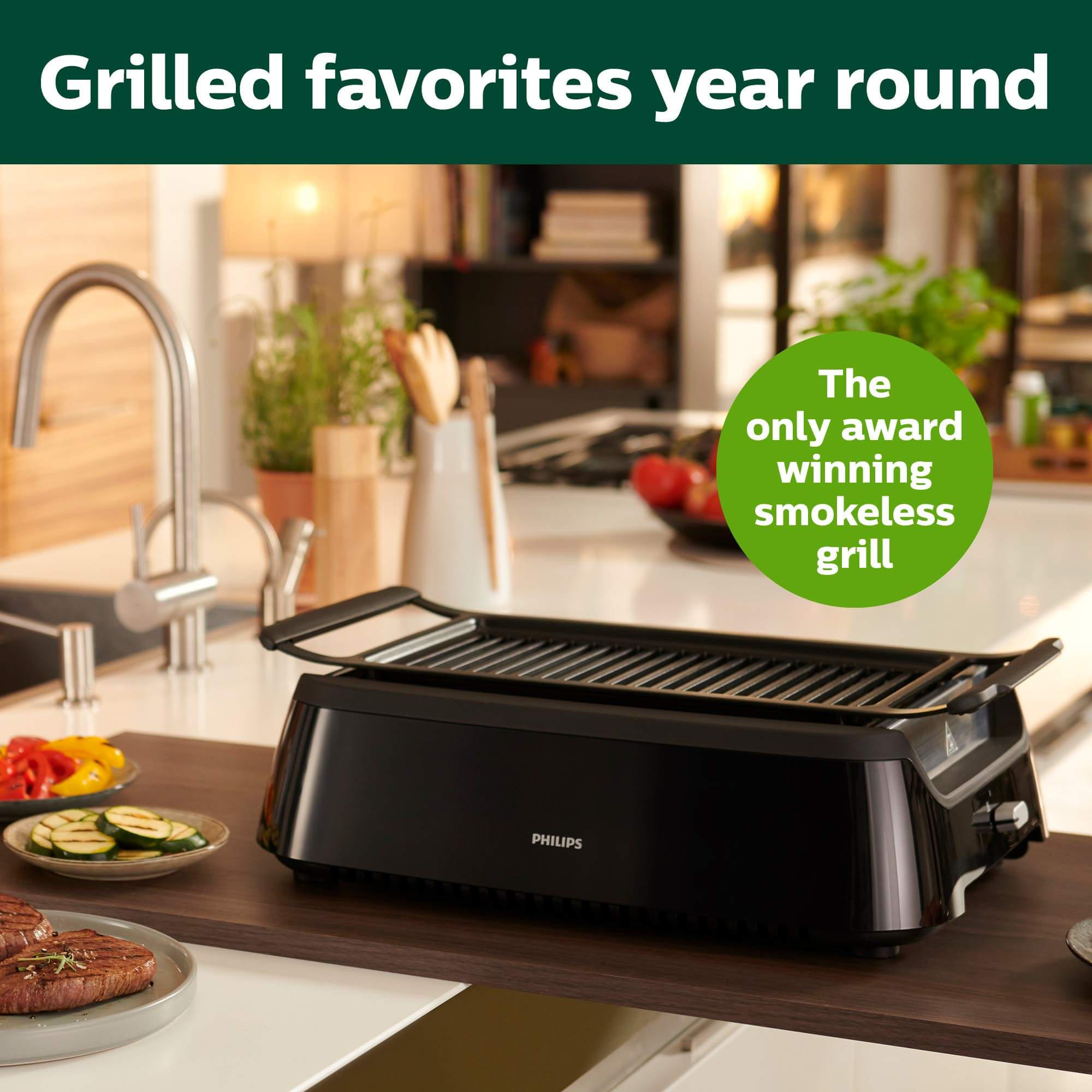 Philips Kitchen Appliances HD6371/94, philips smokeless indoor grill, philips indoor grill, philips smokeless grill, best electric grill indoor