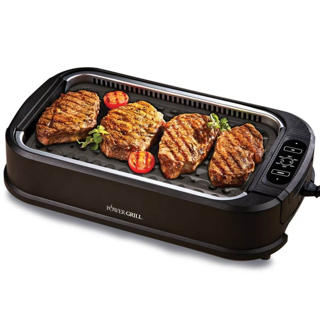 Power XL Smokeless Electric Indoor Removable Grill , best electric grills 2020, best indoor electric grill, power smokeless grill, power grill, power smokeless grill reviews, power grill reviews