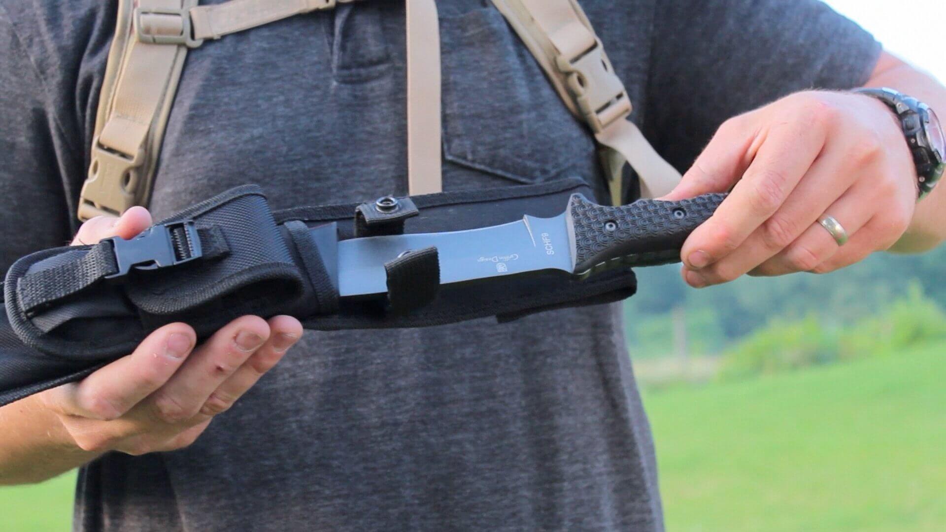 Schrade SCHF9 12.1in High Carbon Steel, best survival knives, bushcrafting, best survival knives of all time