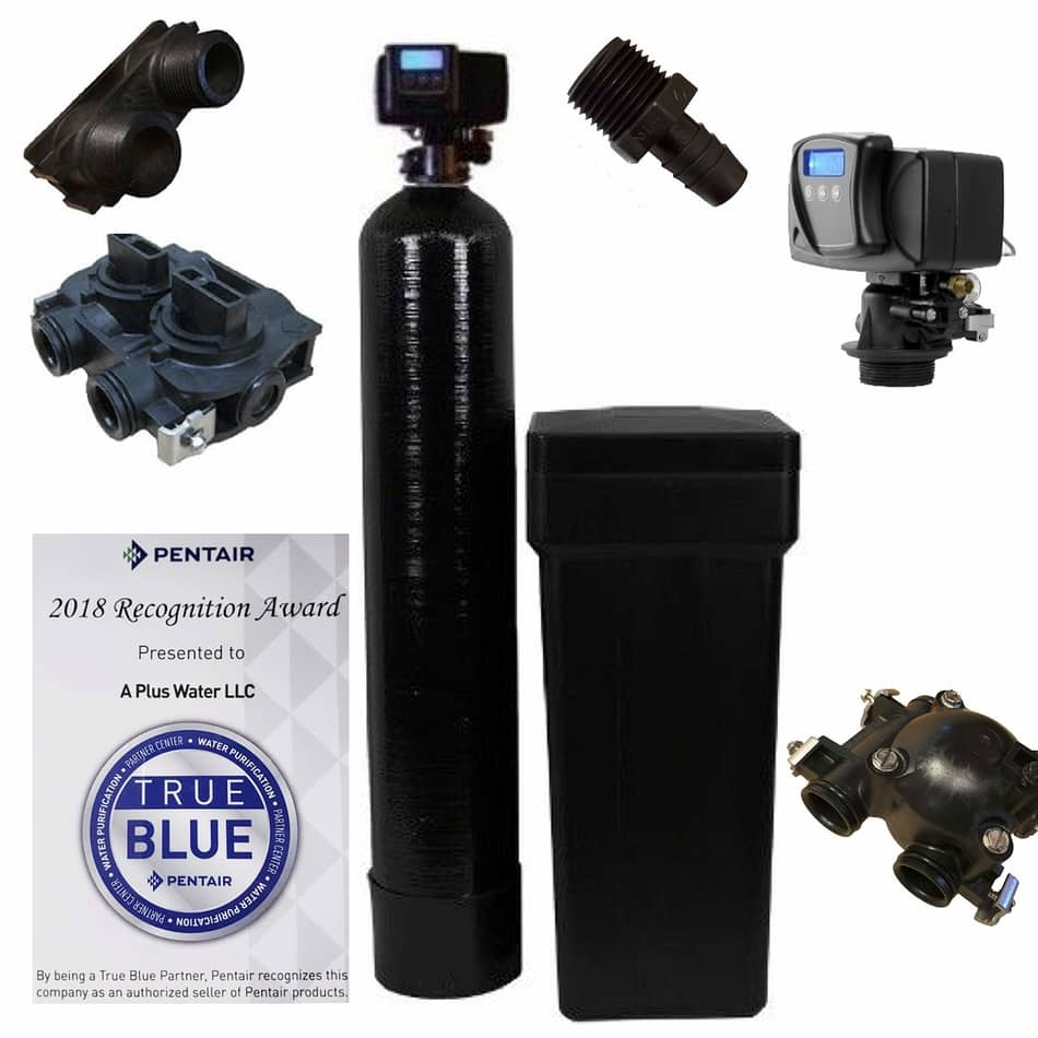 Fleck 5600SXT 64,000 Grain Water Softener, best home water softener 2020, best home water softener 2021, best water softners , flex water softeners,water softner fleck, fleck water softener systems, fleck 5600 metered water softener on demand control head valve