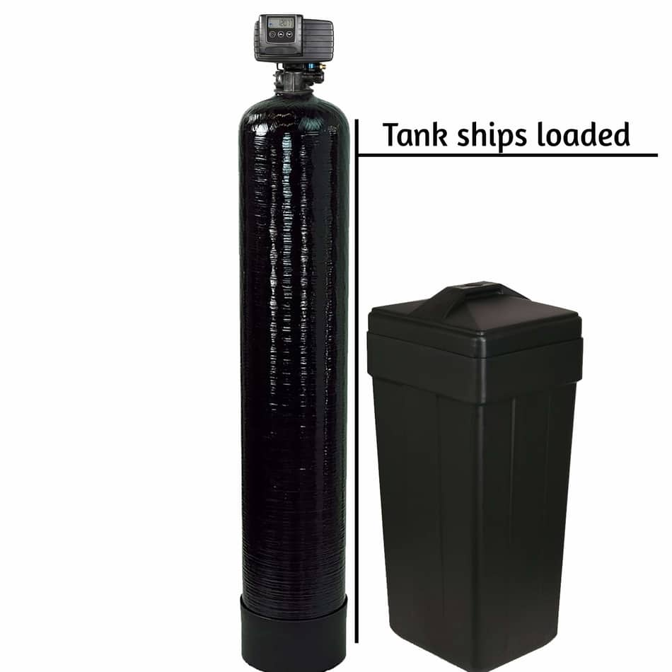 Fleck 5600sxt Metered On-demand 48,000 Grain Water Softener,  best whole house water filtration and softener system ,  best water softener systems ,  best home water softener , fleck water softener review, fleck water softener installation, flex water softener