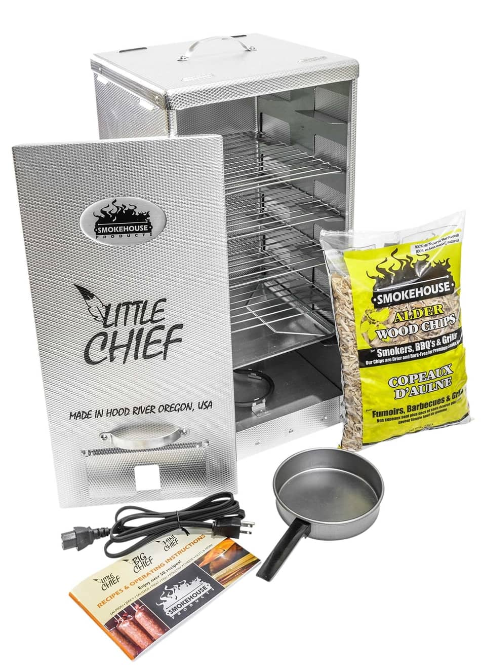 Smokehouse Products Little Chief Front Load Smoker , best electric smoker, best smoker under 1000, best smoker for the money, best electric smokers 2020, best electric smokers 2021