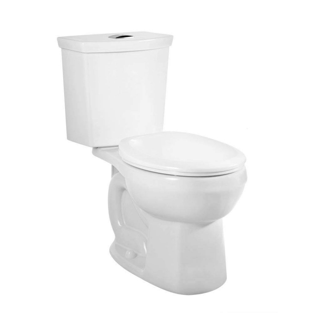 American Standard 2889218.020 H2Option Dual Flush Round Front Toilet 0.92/1.28 gpf, White