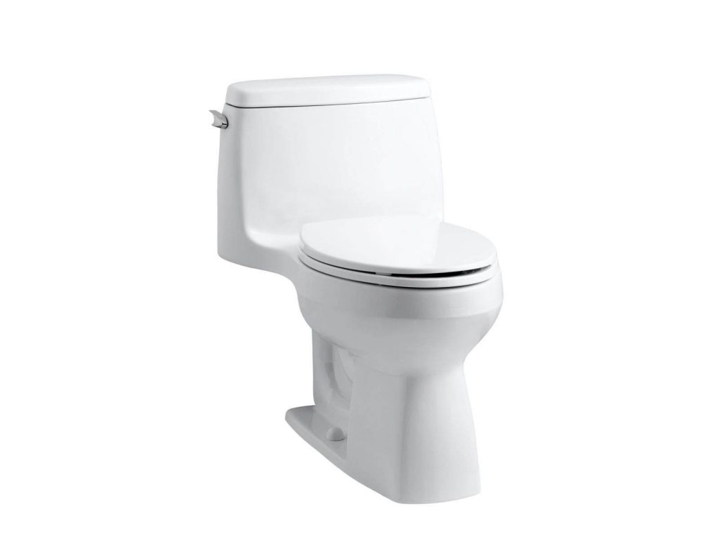 Kohler 3810-0 Santa Rosa Comfort Height Elongated 1.28 Gpf Toilet with Aquapiston Flush Technology And Left-Hand Trip Lever, White, what is the best toilet to buy