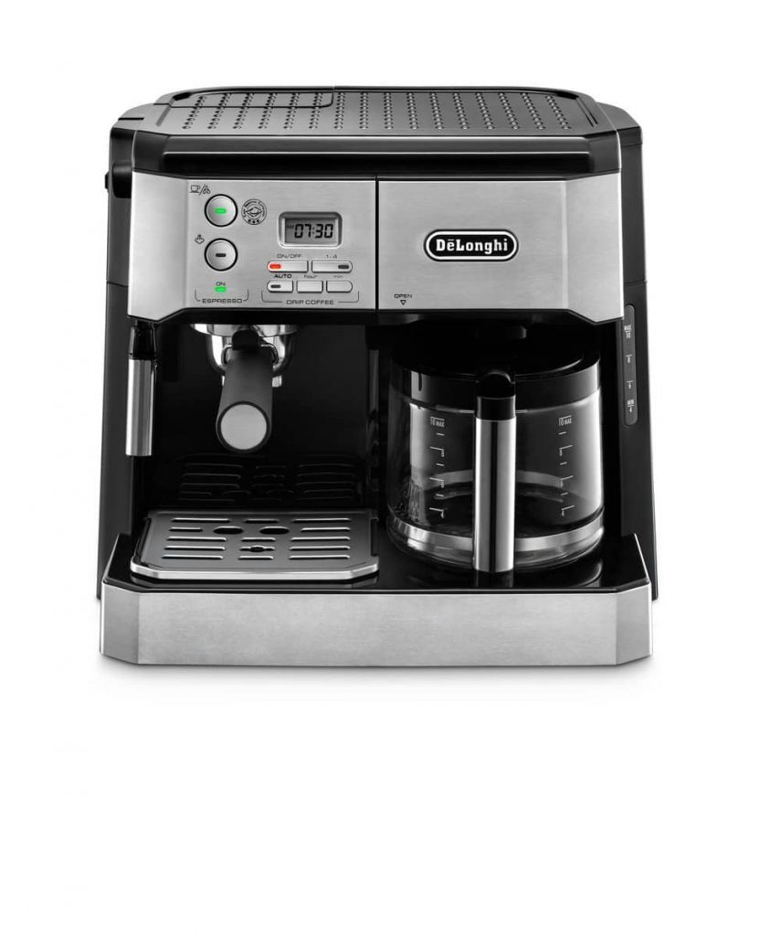 DeLonghi BCO430 Combination 10-Cup Drip Coffee Machine in best dual coffee machine 2021