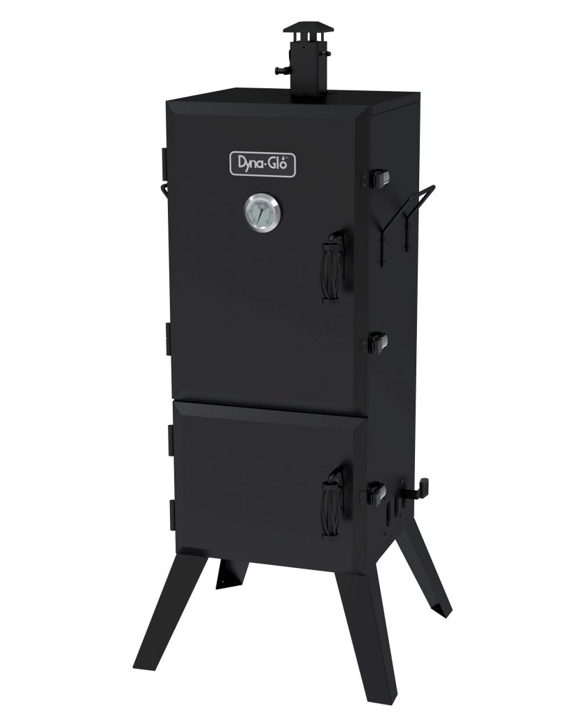 """Dyna-Glo DGX780BDC-D 36"""" Vertical Charcoal Smoker is the best charcoal smoker 2021"""