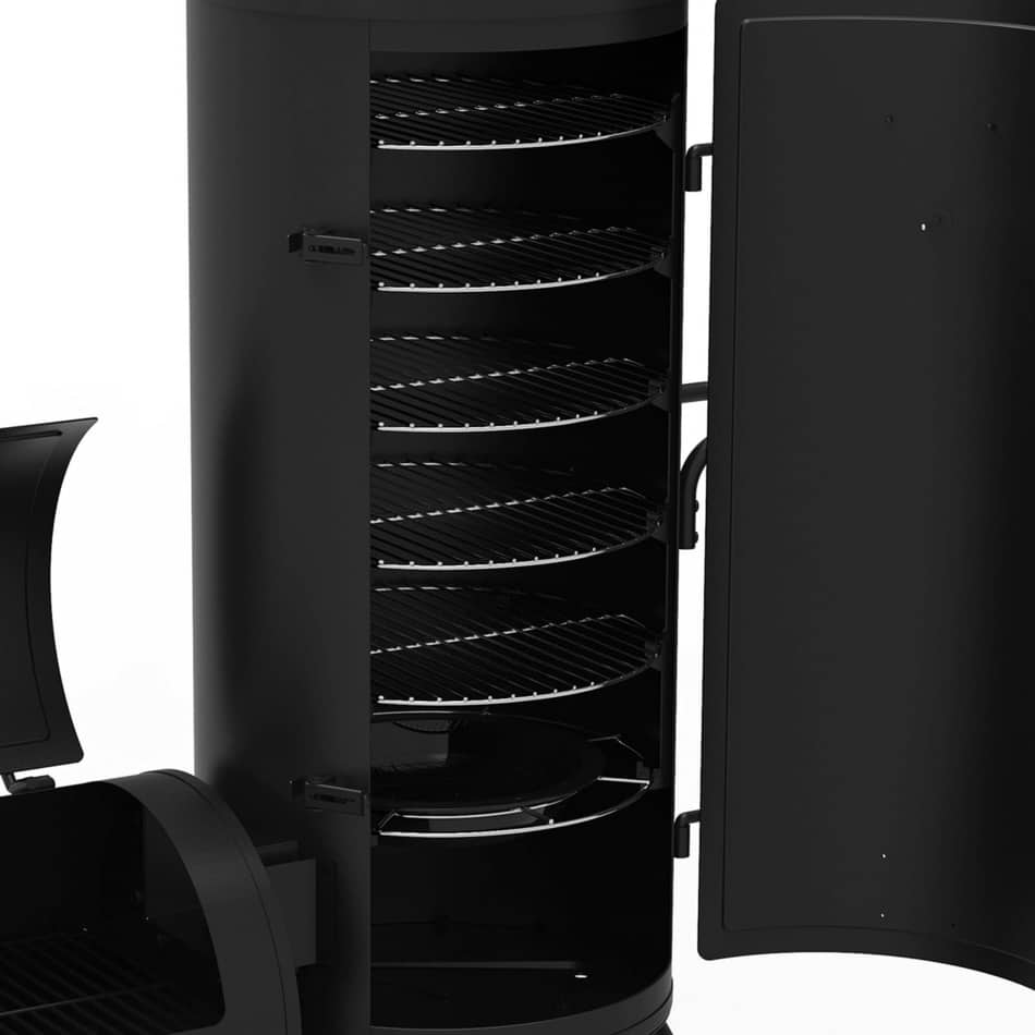 dyna glo vertical charcoal smoker