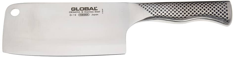 Global Meat Cleaver is the best cleaver knife 2021 and amazon global cleaver