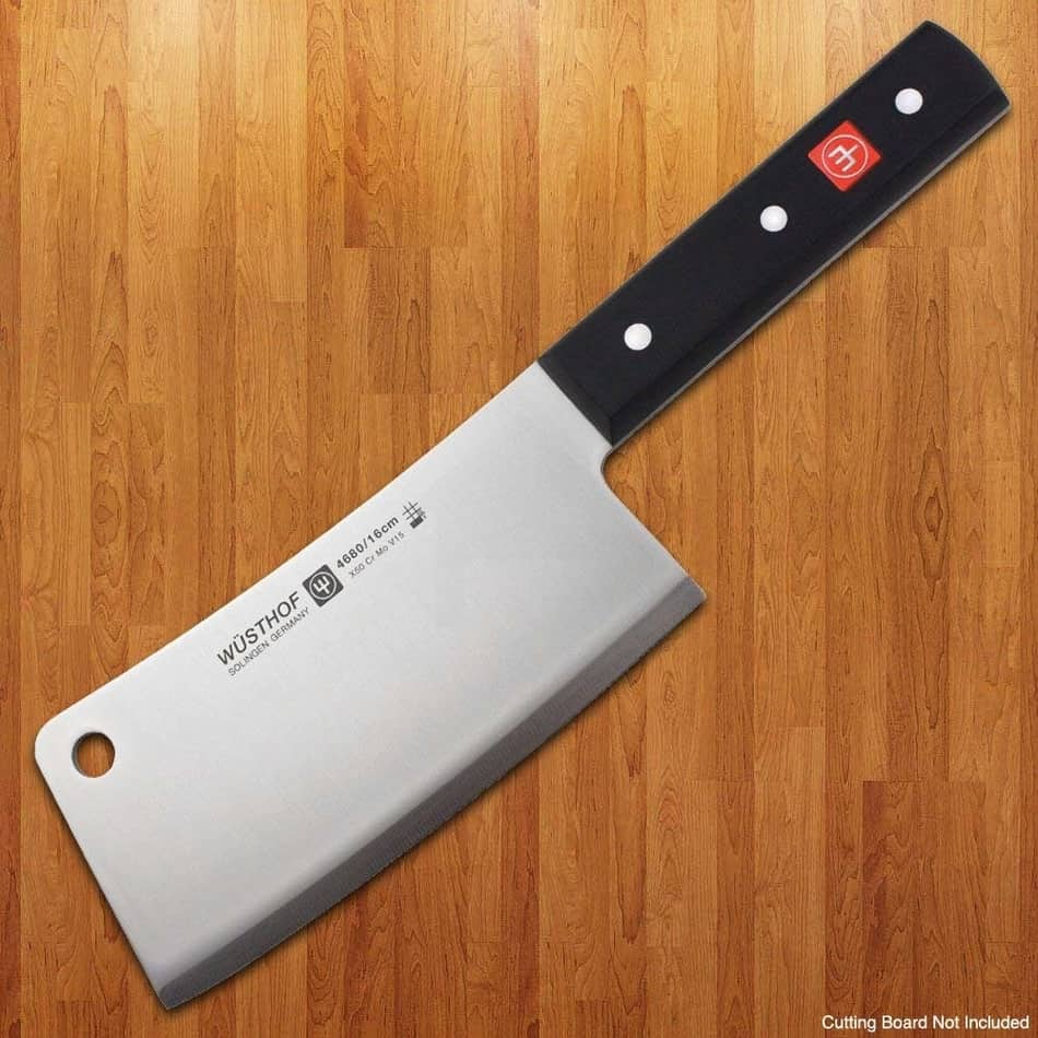 wusthof knives in the list of best cleaver knife 2021