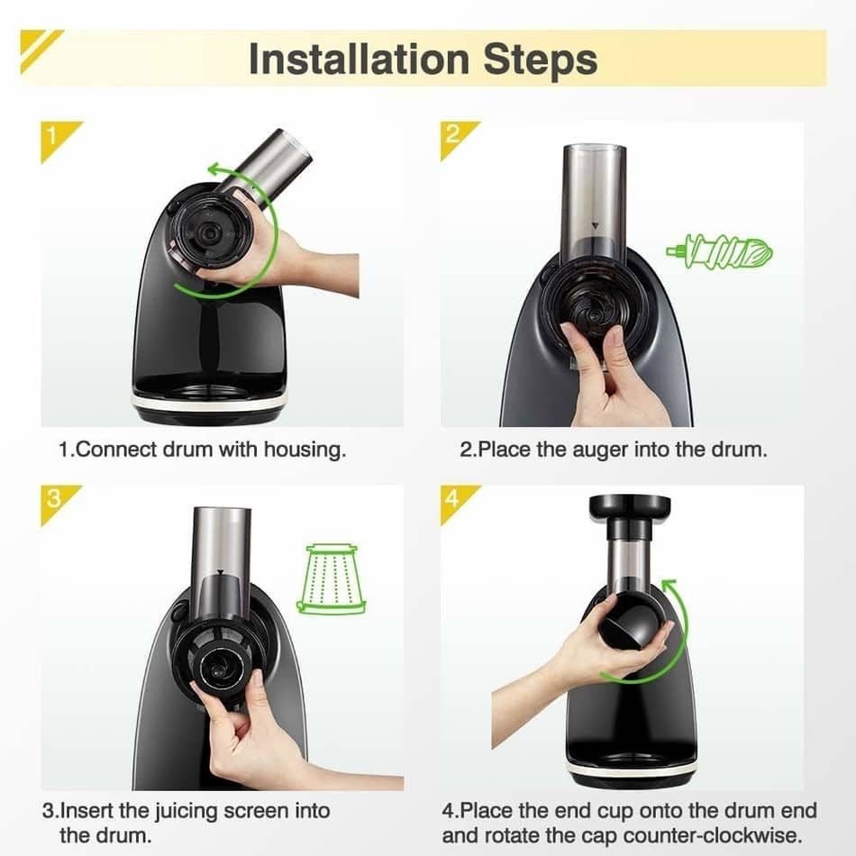amzchef slow juicer review on how to fix, best home cold press juicer