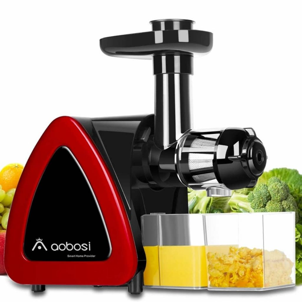 Aobosi slow masticating juicer is the best cold press juicer 2021