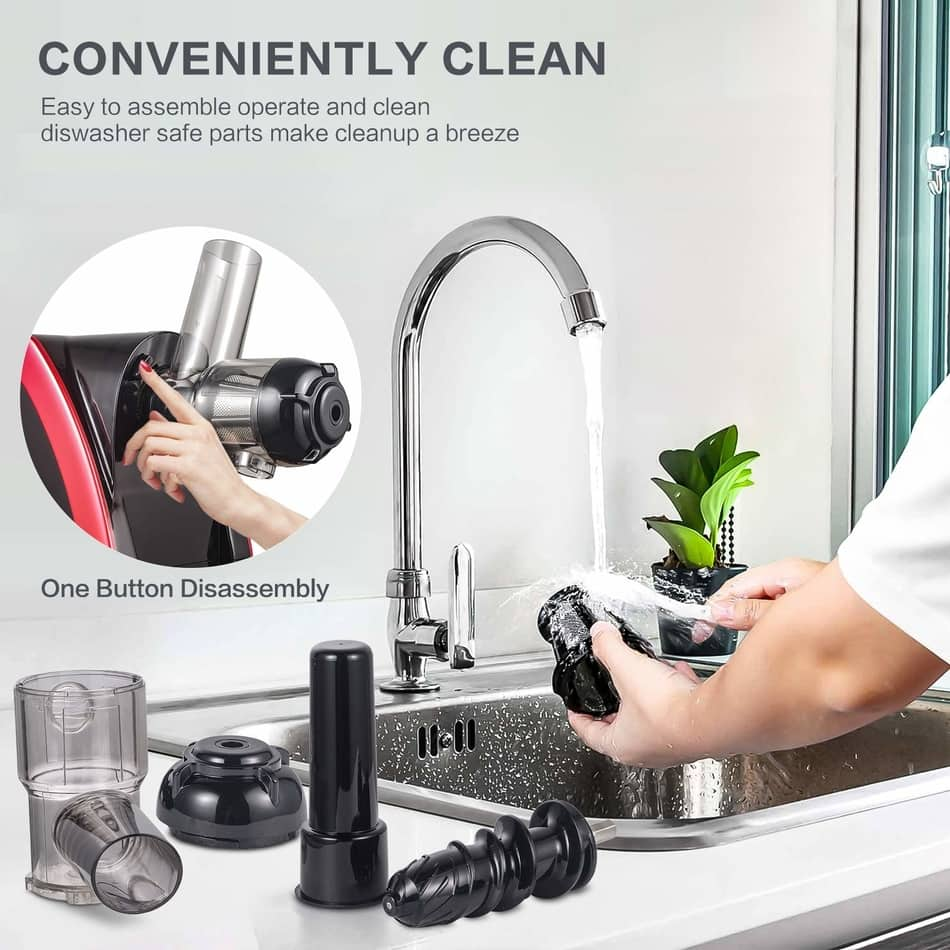 aobosi slow masticating juicer extractor cleaning, best electric juicer