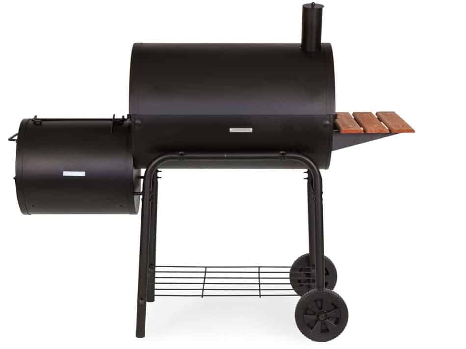 Char-Griller E1224 Smokin Pro 830 Square Inch Charcoal Grill with Side Fire Box